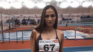 Nhà vô địch điền kinh kiêm người mẫu Nga đột tử lúc tập luyện