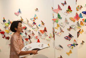 Triển lãm về cánh bướm ước mơ của 1.300 trẻ em trên toàn thế giới