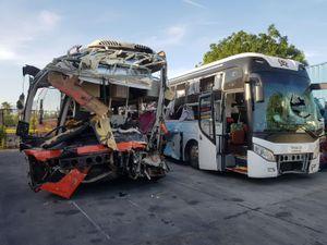 Vụ xe Phương Trang tông vào xe khách giường nằm tại Diên Khánh: Tổng Cục đường bộ công bố dữ liệu giám sát hành trình