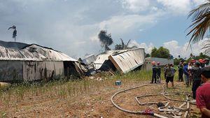 Cháy nổ lớn tại 2 nhà xưởng ở TP.HCM