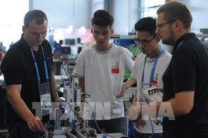 Việt Nam tham dự kỳ thi tay nghề thế giới lần thứ 45 tại Liên bang Nga