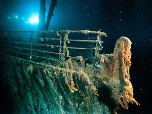 Tàu Titanic huyền thoại đang tan dần vào biển vì vi khuẩn rỉ sắt