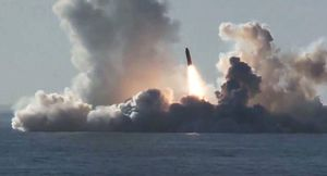 Nga phóng thử thành công cùng lúc tên lửa đạn đạo Bulava và Sineva