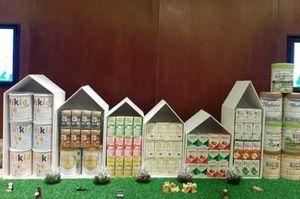 Nhiều sản phẩm sữa Hàn Quốc được giới thiệu tại Hà Nội