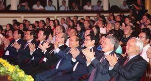 Thủ tướng dự chương trình 'Lời Bác dặn trước lúc đi xa'