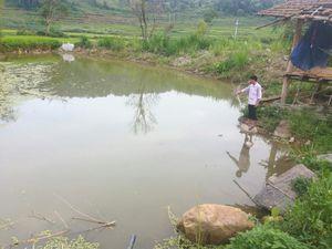 3 cháu nhỏ rủ nhau tắm ao tử vong thương tâm ở Điện Biên