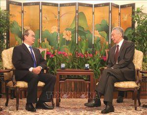 Thủ tướng Lý Hiển Long: Singapore mong muốn thúc đẩy hợp tác toàn diện với TP Hồ Chí Minh