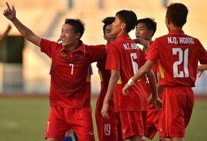 U15 Việt Nam tạo nên cơn đia chấn trước ông lớn đến từ châu Âu tại giải U15 Quốc tế 2019