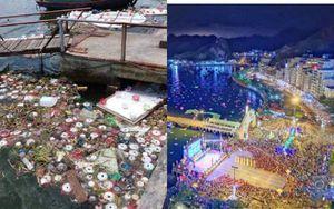Bị phản ánh thả 30.000 hoa đăng trên biển gây ô nhiễm, chính quyền Hải Phòng trần tình: 'Chúng tôi đã cử công nhân dọn ngay'