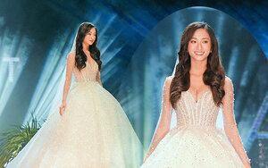 Vừa đăng quang chưa đầy 1 tháng, Hoa hậu Lương Thùy Linh đã làm cô dâu xinh đẹp đây này!