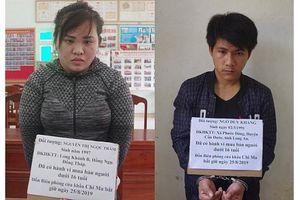 Lạng Sơn: Cặp vợ chồng hờ buôn bán trẻ sơ sinh bị bắt giữ
