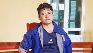 Nam thanh niên người Lào sa lưới khi vận chuyển 5000 viên ma túy vào Việt Nam