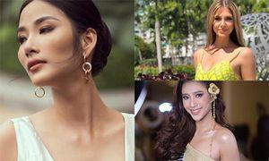 Hoàng Thùy đọ gợi cảm với dàn thí sinh Miss Universe 2019