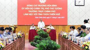 Thừa Thiên- Huế muốn có cơ chế riêng để thành 'đô thị di sản đặc thù'