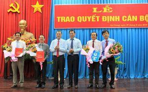 An Giang công bố các quyết định bổ nhiệm nhân sự mới