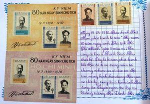 Trao giải cuộc thi sưu tập tem về làm theo Di chúc Bác Hồ