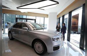 Nga cho ra mắt mẫu xe 'Limousine Putin', hướng tới thị trường Trung Quốc