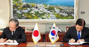 Về việc chấm dứt hợp tác an ninh Hàn Quốc - Nhật Bản