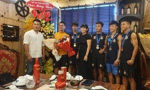 Phú Hồng Thịnh đồng thành cùng Đội tuyển Muay Thái MMA FIGHT ACADEMY