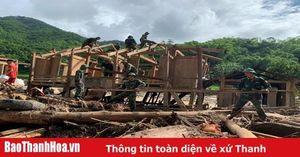 Huyện Quan Sơn: Dốc toàn lực ứng phó với cơn bão số 4