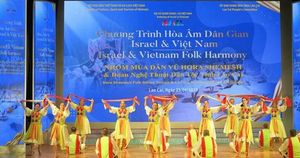 Ấn tượng đêm văn hóa dân gian Việt Nam-Israel
