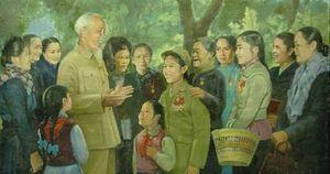 Tác phẩm 'Chân dung Bác Hồ' thêu tay của nghệ sĩ Việt Nam khiến người Nga 'sửng sốt'