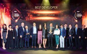Kiến Á nhận giải thưởng Nhà phát triển Bất động sản tốt nhất Việt Nam 2019