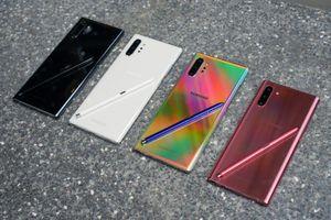 Đánh giá thiết kế Galaxy Note10: Thời trang và lạ mắt