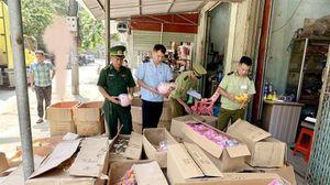 Lạng Sơn: Thu giữ số lượng lớn đèn Trung thu nhập lậu