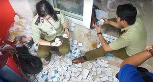 Lật tẩy nhiều đường dây buôn bán, sản xuất tân dược giả
