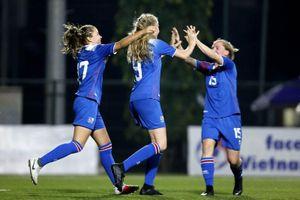 Thắng U15 Việt Nam, tuyển nữ U15 Iceland giành chức vô địch