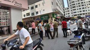 Công an vào cuộc điều tra vụ nổ tại quán trà đá chung cư Linh Đàm