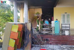 Cháy trường mầm non tại Quảng Trị, kịp thời sơ tán toàn bộ học sinh