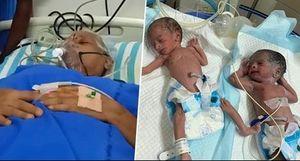 Chuyện hy hữu: Cụ bà Ấn Độ hạ sinh 2 bé gái ở tuổi 73