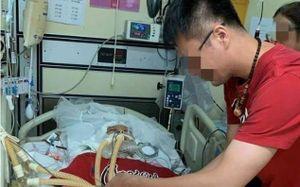 Chàng trai Trung Quốc làm đám cưới với bạn gái mất vì tai nạn
