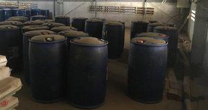 Xử phạt hành chính 4 trong số 6 người Trung Quốc liên quan đến vụ 'kho hàng chứa hóa chất sản xuất ma túy'