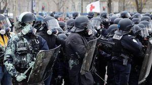 Lo ngại 'biểu tình quy mô chưa từng có', Pháp điều động hàng nghìn cảnh sát