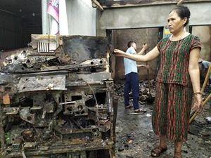 Sau tiếng nổ bí ẩn, hàng loạt thiết bị điện của dân bị chập cháy, thiệt hại hàng trăm triệu