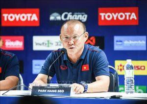 Huấn luyện viên Park Hang-seo: Sẽ tạo bất ngờ cho đối thủ