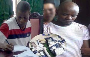 Bắt 2 người Nigeria đưa gần 14,7kg ma túy từ Tam giác vàng vào Việt Nam