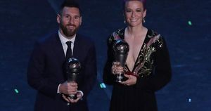 FIFA gây sốc, lần đầu trao 'The Best' cho Lionel Messi