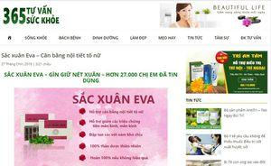 Một số trang web quảng cáo thực phẩm bảo vệ sức khỏe vi phạm quy định quảng cáo