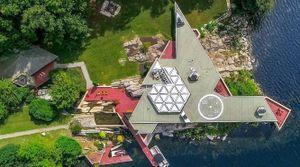 Khám phá biệt thự trên đảo được rao bán 12,9 triệu USD ở Mỹ