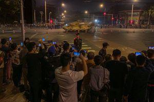 Trung Quốc chuẩn bị cho Lễ duyệt binh lớn kỷ lục mừng Quốc khánh