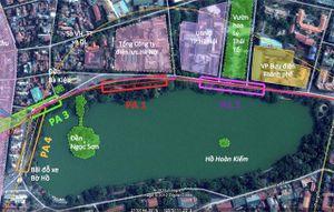 Chủ tịch Hà Nội đề xuất xây ngầm ga đường sắt đô thị cạnh hồ Hoàn Kiếm