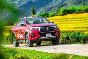 Toyota Hilux - xe bán tải chinh phục nhiều thị trường