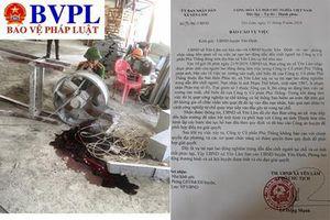 Một phạm nhân bị tai nạn tử vong khi đi lao động ở công ty bên ngoài