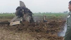 Máy bay MiG-21 của Ấn Độ gặp nạn, 2 phi công thoát chết