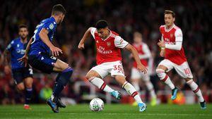 Cúp Liên đoàn Anh: Arsenal, Man City thắng đậm, Tottenham thua sốc đội hạng tư