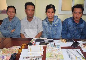 4 kẻ dùng băng dính trộm hơn 150 triệu tiền công đức